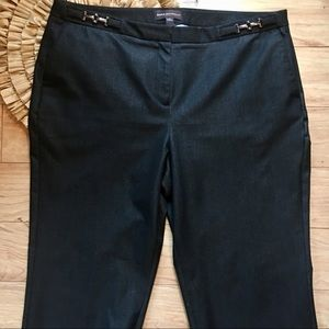 Dana Buchman  Soft Black Dress Pants Size 16